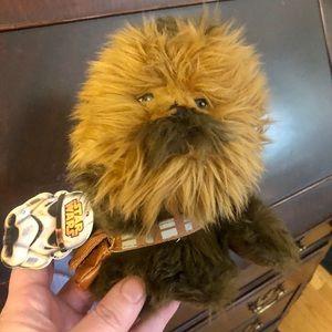 NWT Star Wars Chewbacca Plush wfunctional bag